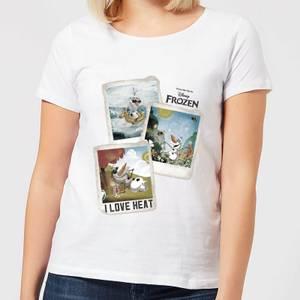 Disney Frozen Olaf Polaroid Women's T-Shirt - White