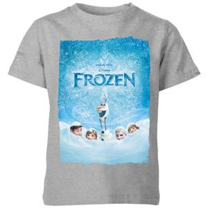 Disney Frozen Snow Poster Kids' T-Shirt - Grey