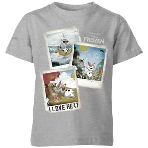Disney Frozen Olaf Polaroid Kids' T-Shirt - Grey