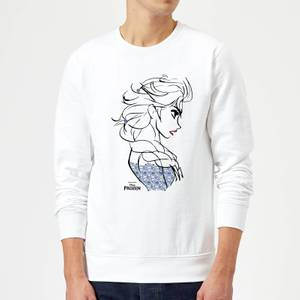 Disney Frozen Elsa Sketch Strong Sweatshirt - White