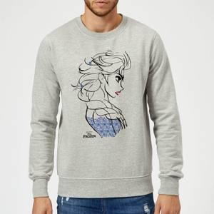 Disney Frozen Elsa Sketch Strong Sweatshirt - Grey