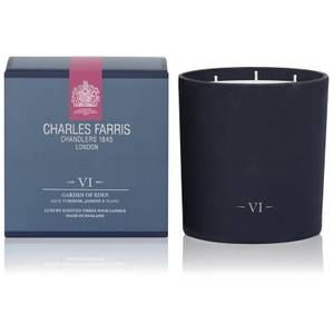 Charles Farris Signature Garden of Eden 3 Wick Candle 640g