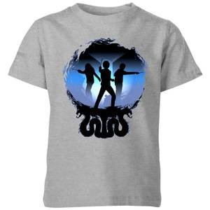 Harry Potter Silhouette Attack Kids' T-Shirt - Grey