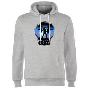 Harry Potter Silhouette Attack Hoodie - Grey