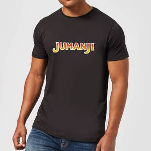 Jumanji Logo Men's T-Shirt - Black