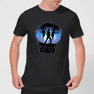 T-Shirt Homme Silhouette de Bataille - Harry Potter - Noir