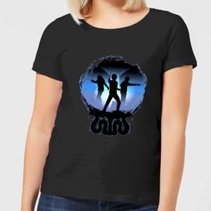 Harry Potter Silhouette Attack Women's T-Shirt - Black