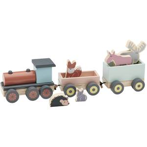 Kids Concept Edvin Animal Wood Train