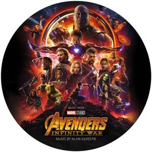 Avengers: Infinity War Limited Edition Picture Disc Vinyl LP