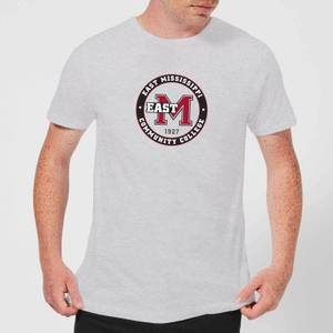 T-Shirt Homme College Seal - East Mississippi Community College - Gris