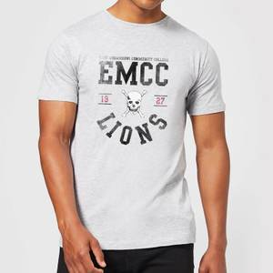 T-Shirt Homme Lions - East Mississippi Community College - Gris