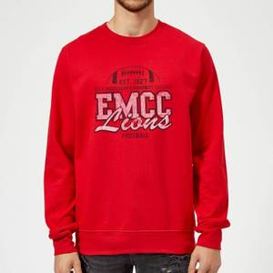 East Mississippi Community College Lions Distressed Sweatshirt - Red