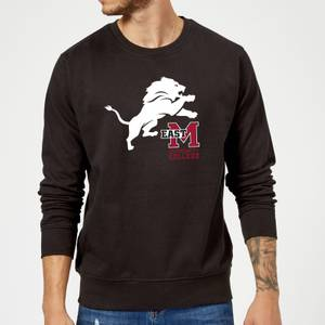 East Mississippi Community College Lion and Logo Sweatshirt - Black
