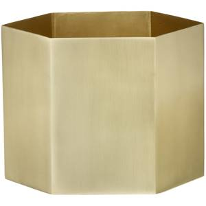 Ferm Living Hexagon Pot - Extra Large - Brass