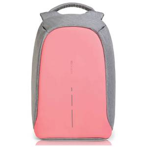 XD Design Bobby Compact Anti Theft Backpack Bag - Coralette Pink