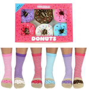 United Oddsocks Women's Donut Socks Gift Box