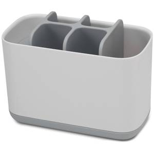 Joseph Joseph Easy-Store Toothbrush Caddy Large - White/Grey