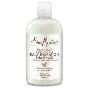 Shea Moisture 100% Virgin Coconut Oil Daily Hydration Shampoo 384ml