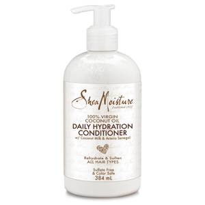 Shea Moisture 100% Virgin Coconut Oil Daily Hydration Conditioner 384ml