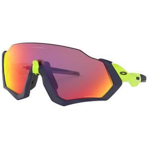 Oakley Flight Jacket Sunglasses - Matte Navy/Prizm Road