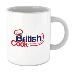 British Cook Red Mug