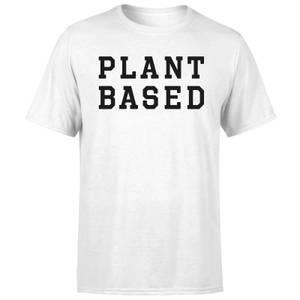 Plant Based Men's T-Shirt - White