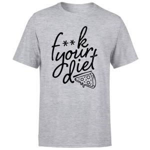 F**k Your Diet Men's T-Shirt - Grey