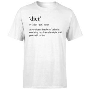 Dictionary Diet Men's T-Shirt - White