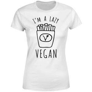 Lazy Vegan Women's T-Shirt - White