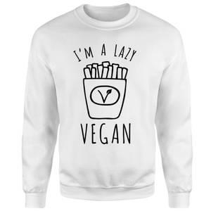 Lazy Vegan Sweatshirt - White