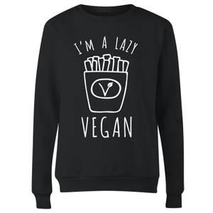 Lazy Vegan Women's Sweatshirt - Black