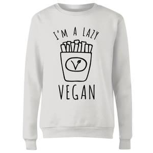 Lazy Vegan Women's Sweatshirt - White