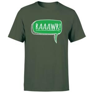 Raaawr Men's T-Shirt - Forest Green
