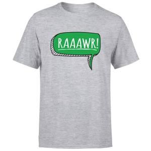 Raaawr Men's T-Shirt - Grey