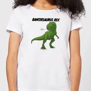 Bantersaurus Rex Women's T-Shirt - White