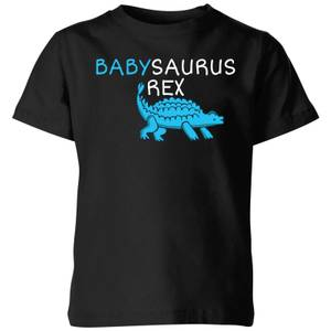 Babysaurus Rex Kids' T-Shirt - Black