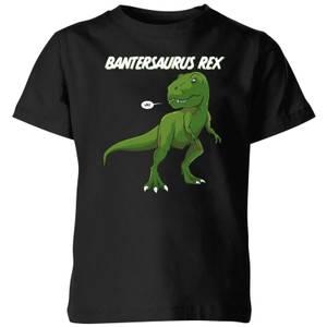 Bantersaurus Rex Kids' T-Shirt - Black