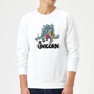 DinoUnicorn Sweatshirt - White