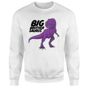 Im A Big Brothersaurus Sweatshirt - White