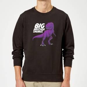 Im A Big Brothersaurus Sweatshirt - Black