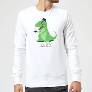Tea Rex Sweatshirt - White
