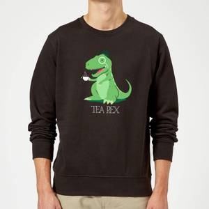 Tea Rex Sweatshirt - Black