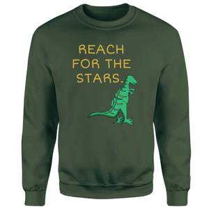Reach For The Stars Sweatshirt - Forest Green