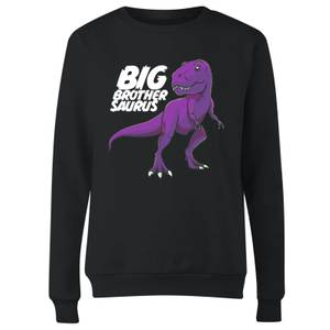 Im A Big Brothersaurus Women's Sweatshirt - Black