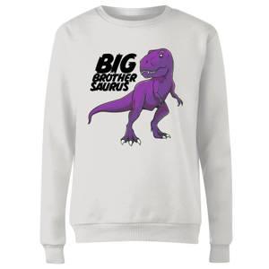 Im A Big Brothersaurus Women's Sweatshirt - White