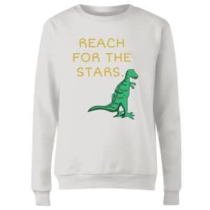 Reach For The Stars Women's Sweatshirt - White