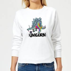 DinoUnicorn Women's Sweatshirt - White