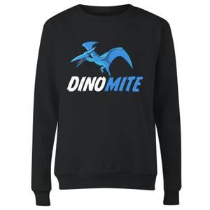 Dino Mite Women's Sweatshirt - Black