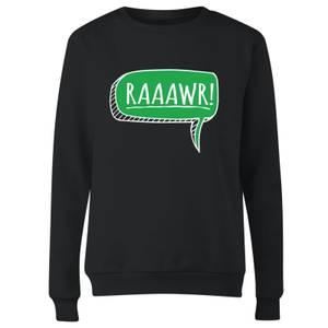 Raaawr Women's Sweatshirt - Black