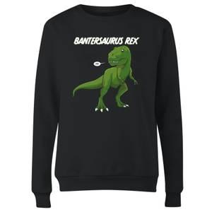 Bantersaurus Rex Women's Sweatshirt - Black